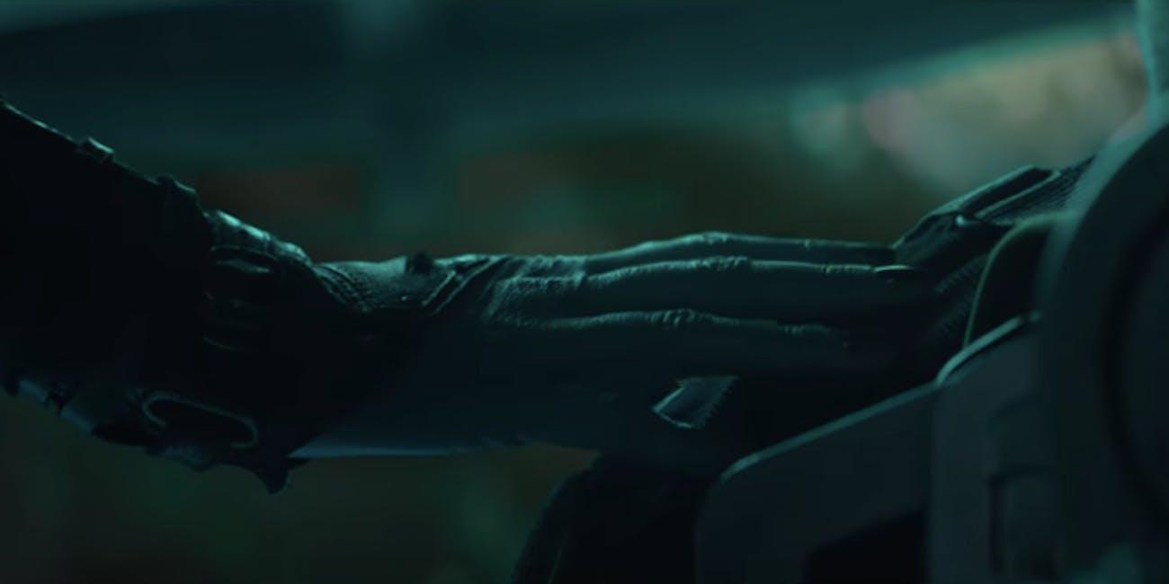 'Avengers: Endgame' Nebula and Iron Man