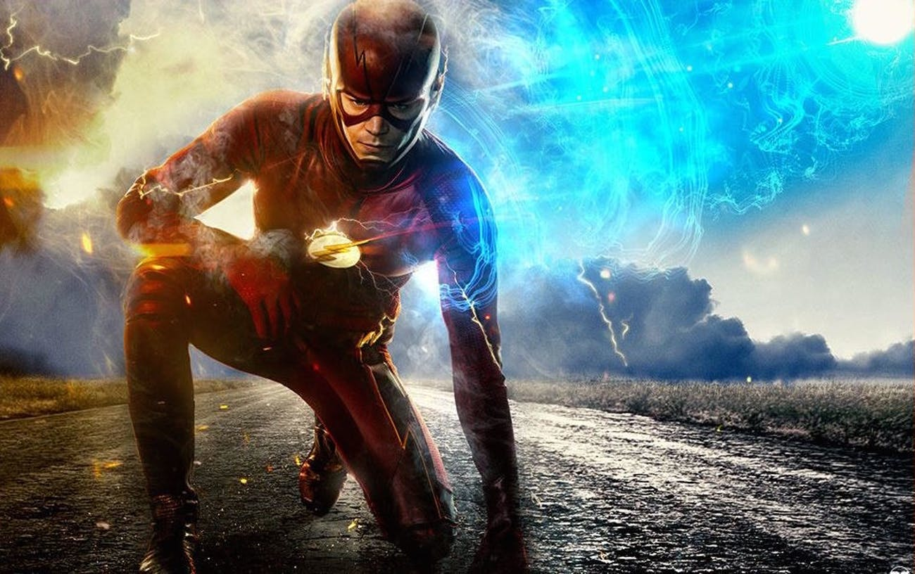 Grant Gustin as Barry Allen in 'The Flash'