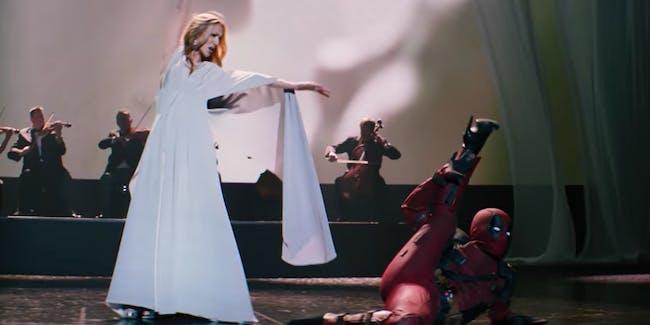Céline Dion's latest music video is for 'Deadpool 2'.