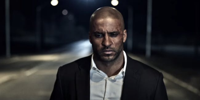 Ricky Whittle as Shadow in 'American Gods'