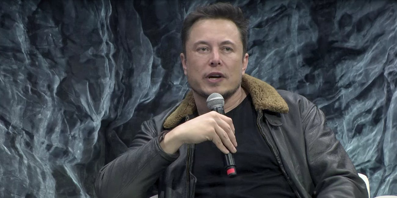 Elon Musk speaks at the South by Southwest festival on March 11, 2018.