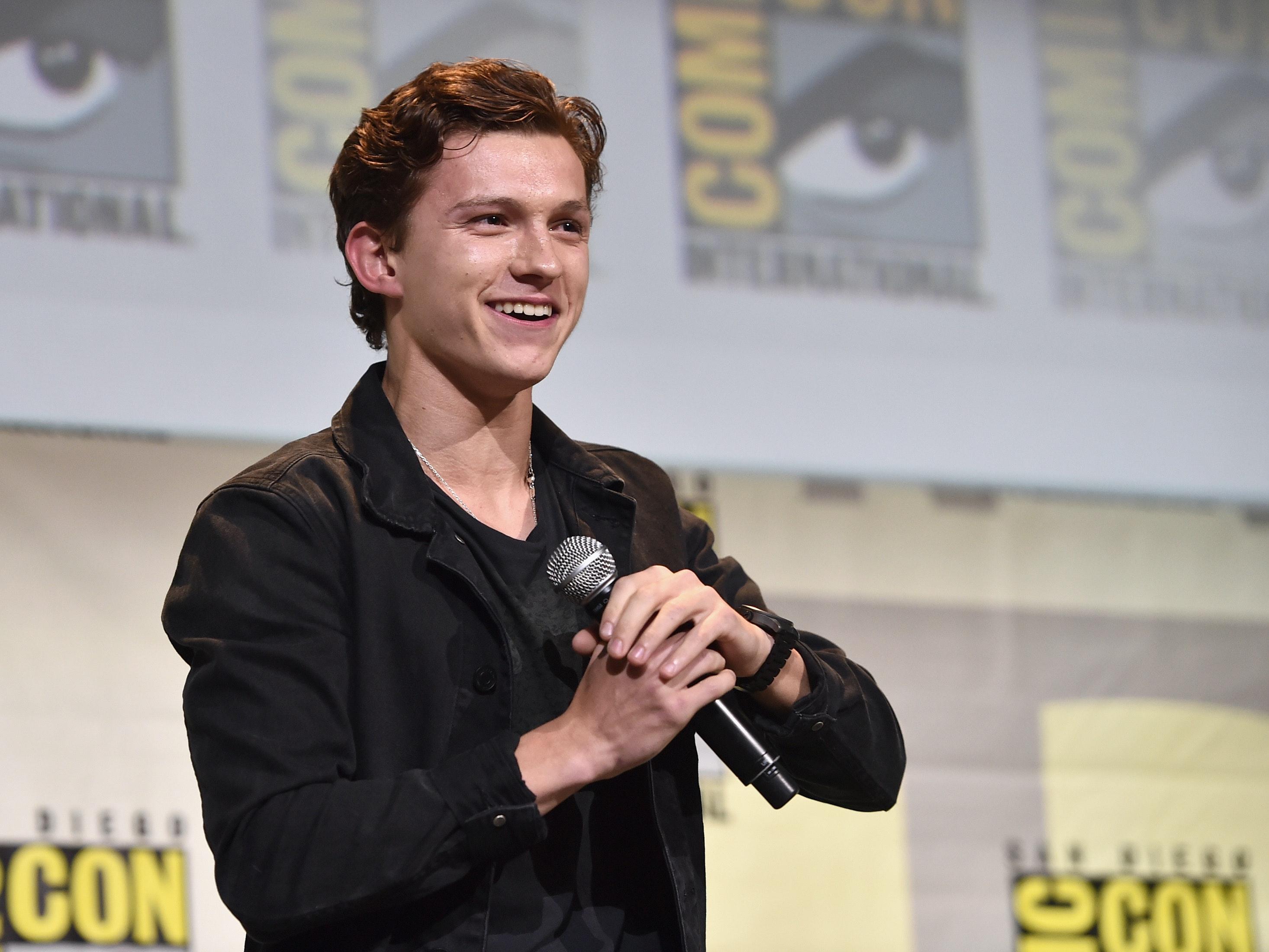 Let Tom Holland's 'Spider-Man' Stunts Make You Feel Flabby, Old
