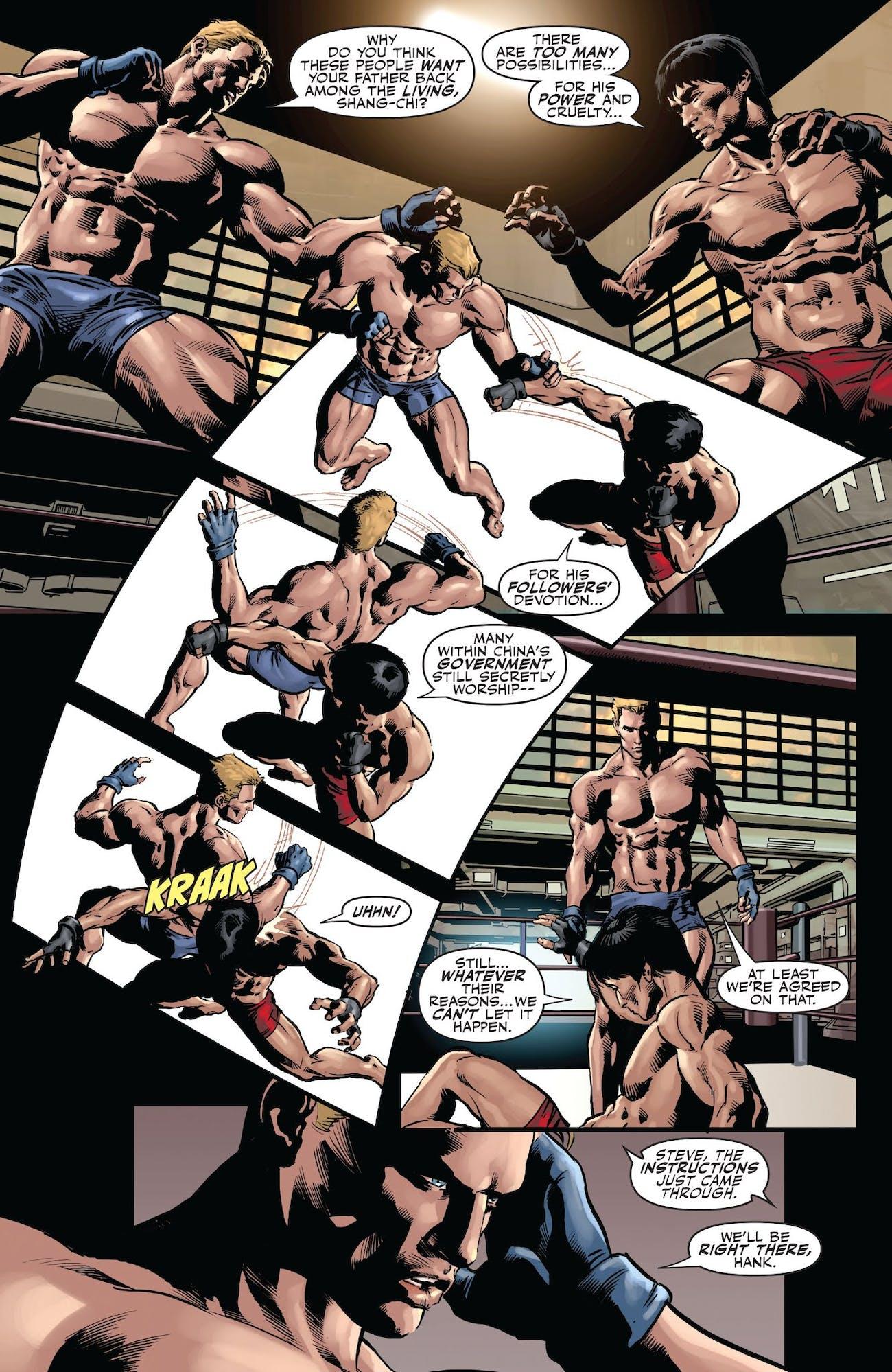 Secret Avengers Captain America Shang-Chi
