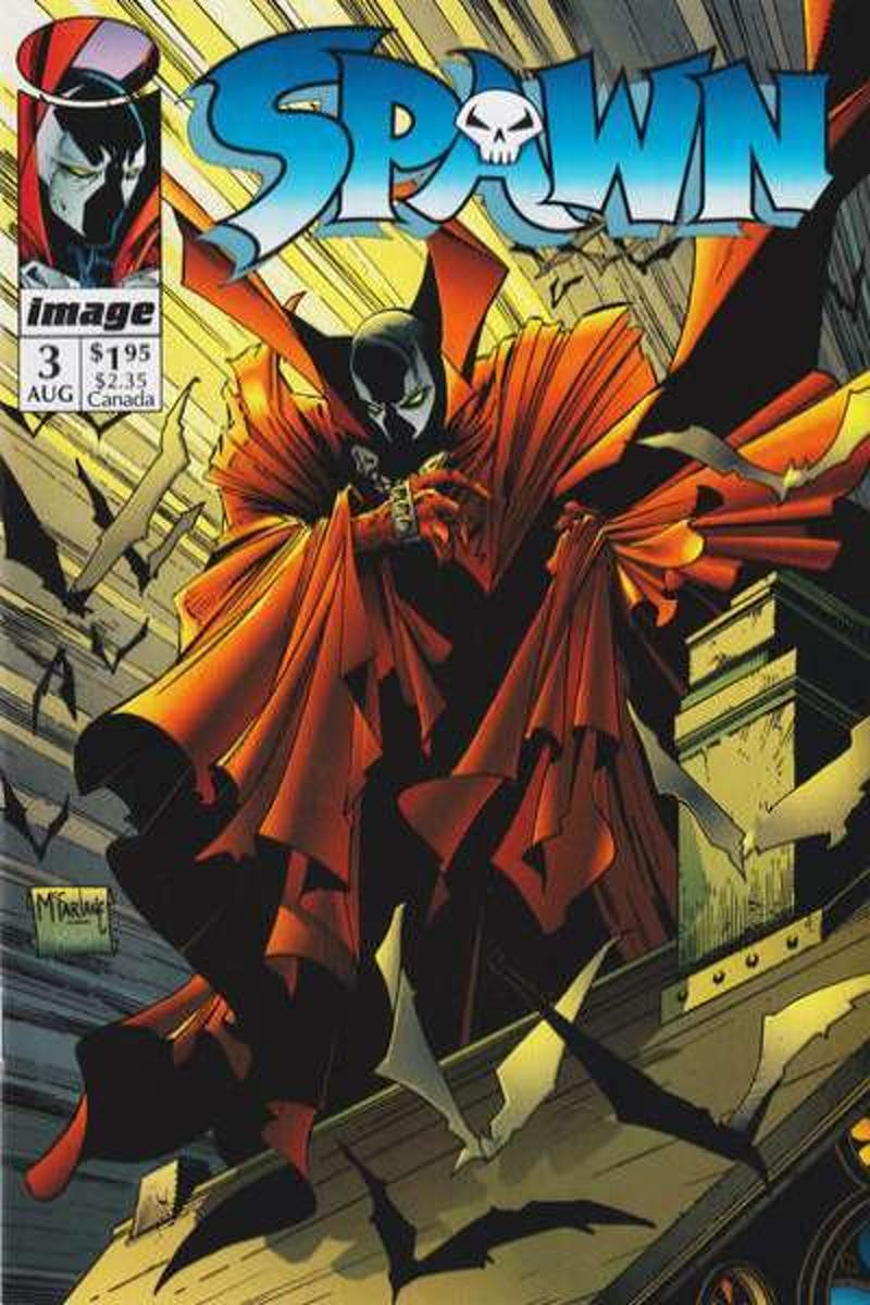 'Spawn' Issue 3, Image Comics