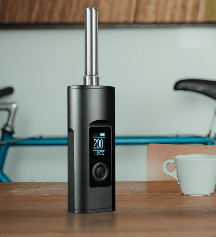 """Yeah the Arizer Solo II is pretty tall for a """"portable vape."""""""