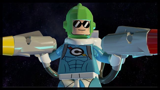 Condiment King as he appears in the video game 'Lego Batman 3'