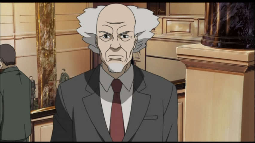 Aramaki in the 'Ghost in the Shell' anime.
