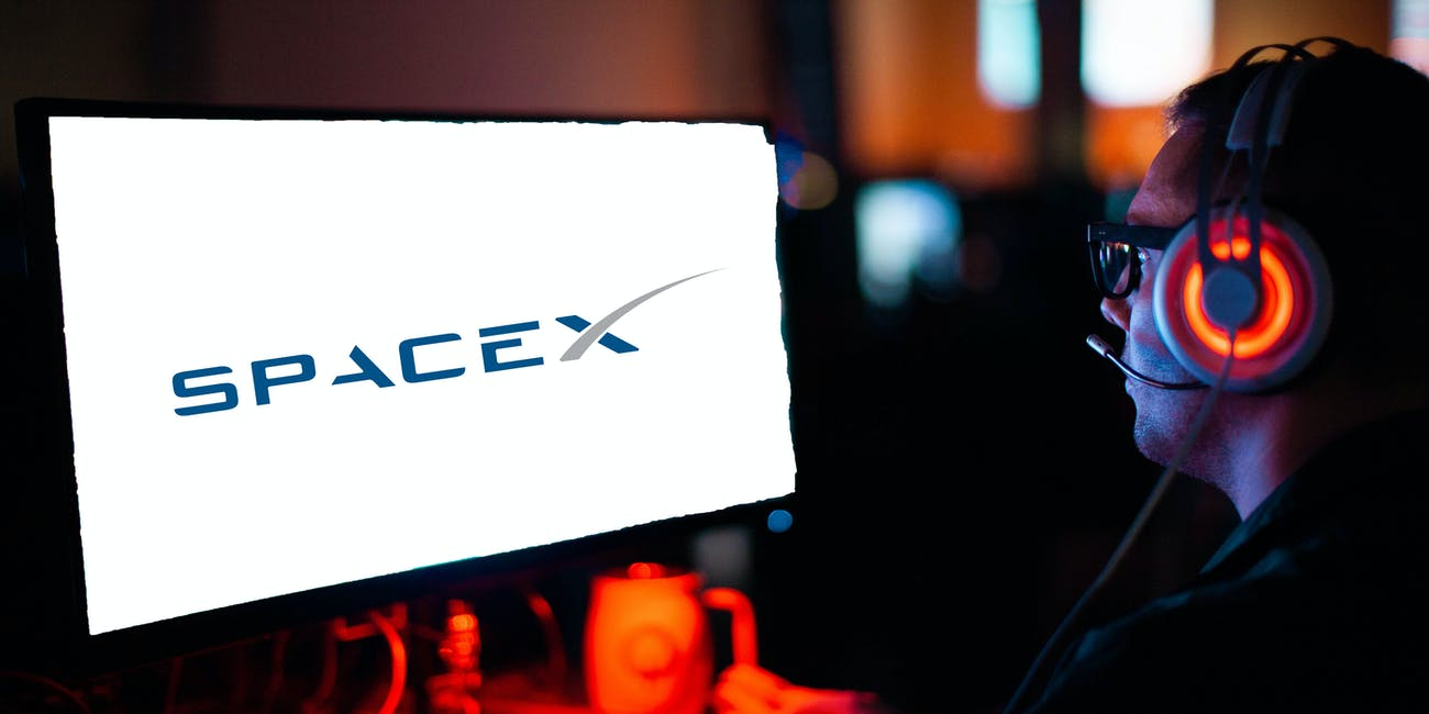 video gaming spacex starlink internet