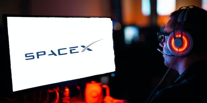 video gaming spacex starlink internet