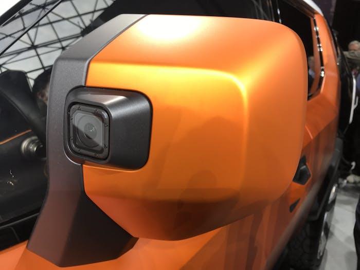 Toyota FT4X GoPro camera