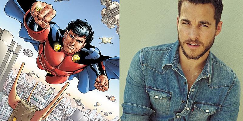 Chris Wood as Mon-El in 'Supergirl'