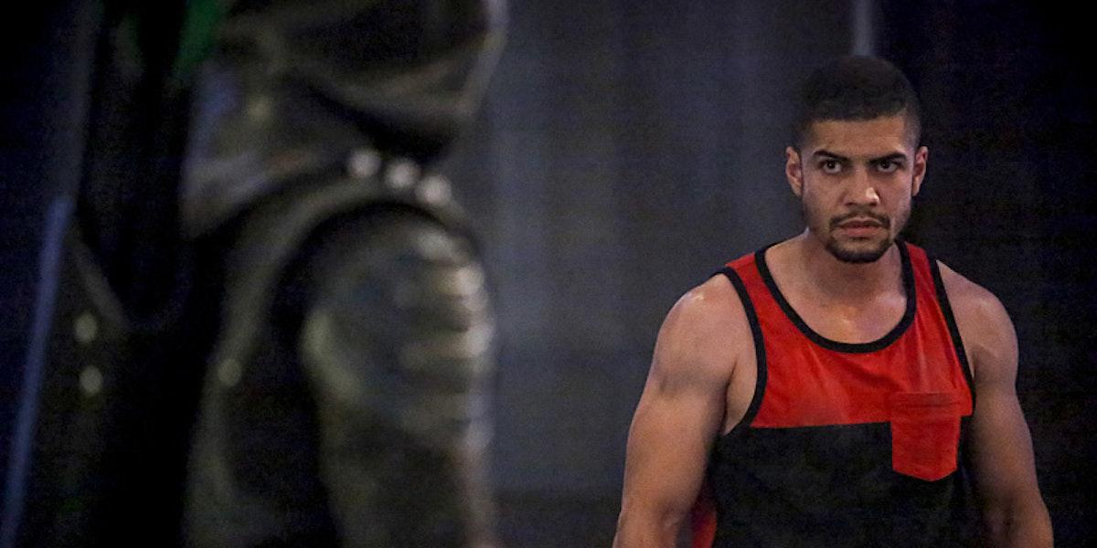 Arrow has a muscular disagreement