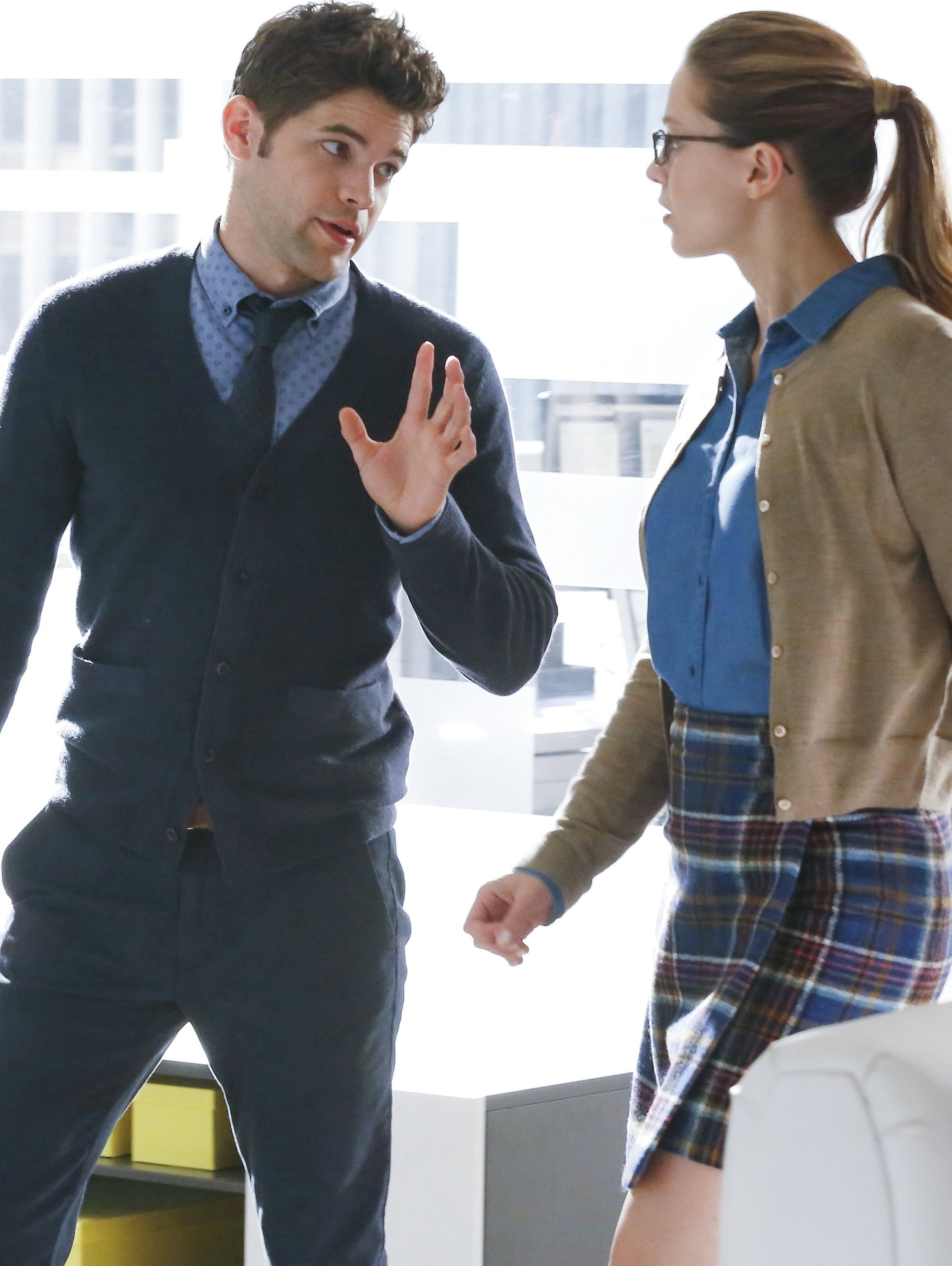 Kara and Winn in 'Supergirl'