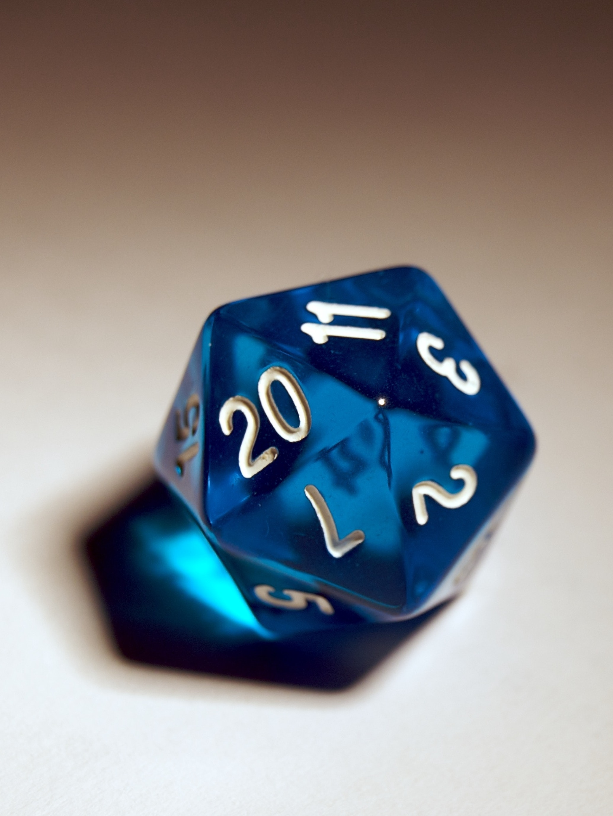 It all begins with a d20.