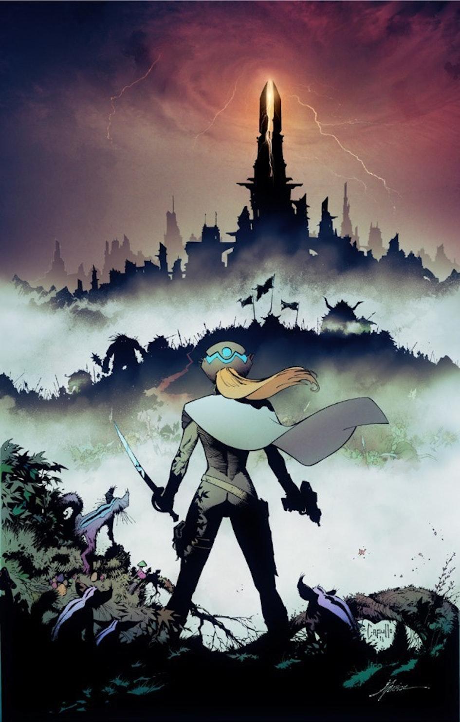 Reborn #1 cover by Greg Capullo