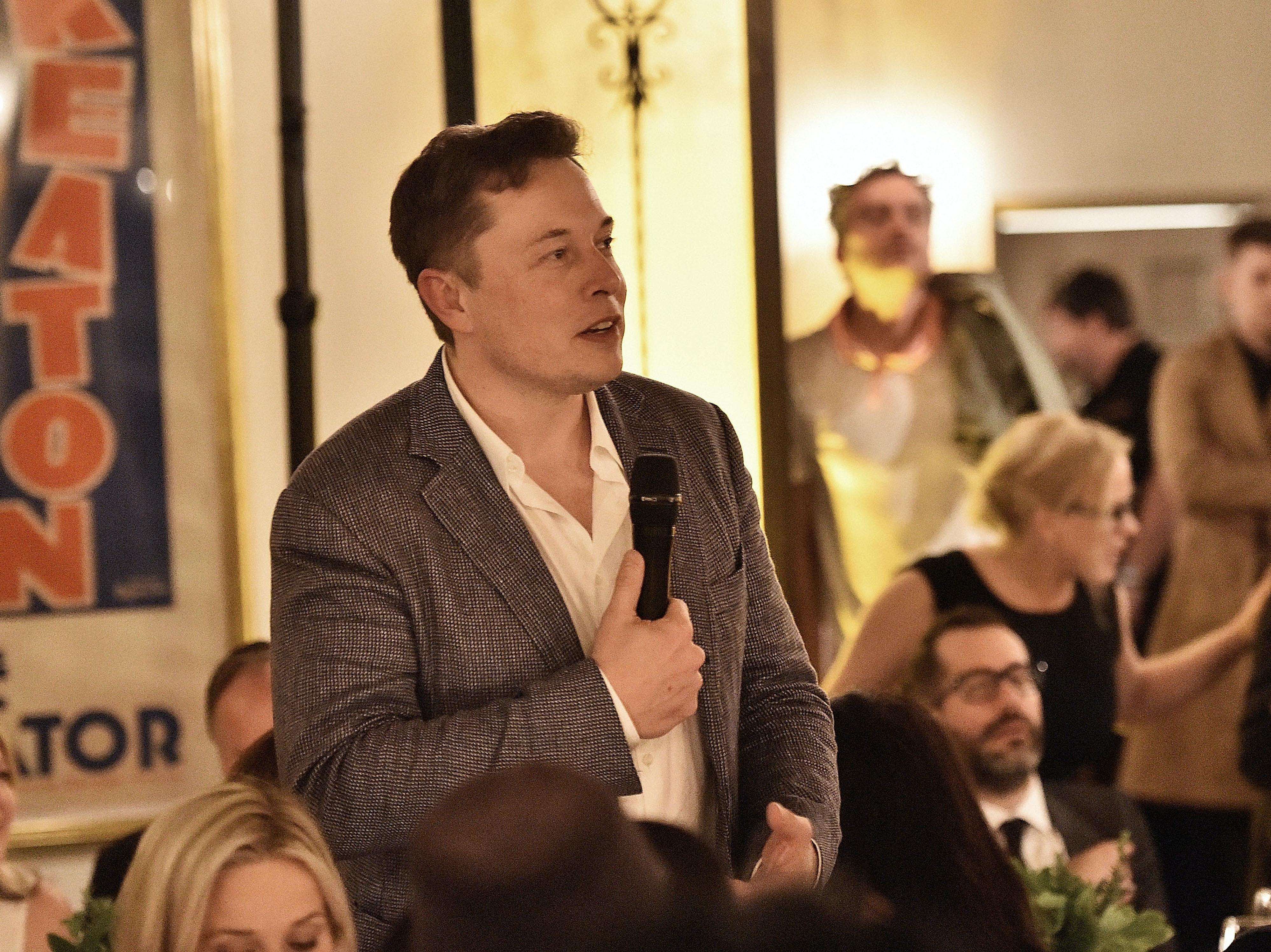 Elon Musk Wonders If Maybe Aliens Already Live Among Us