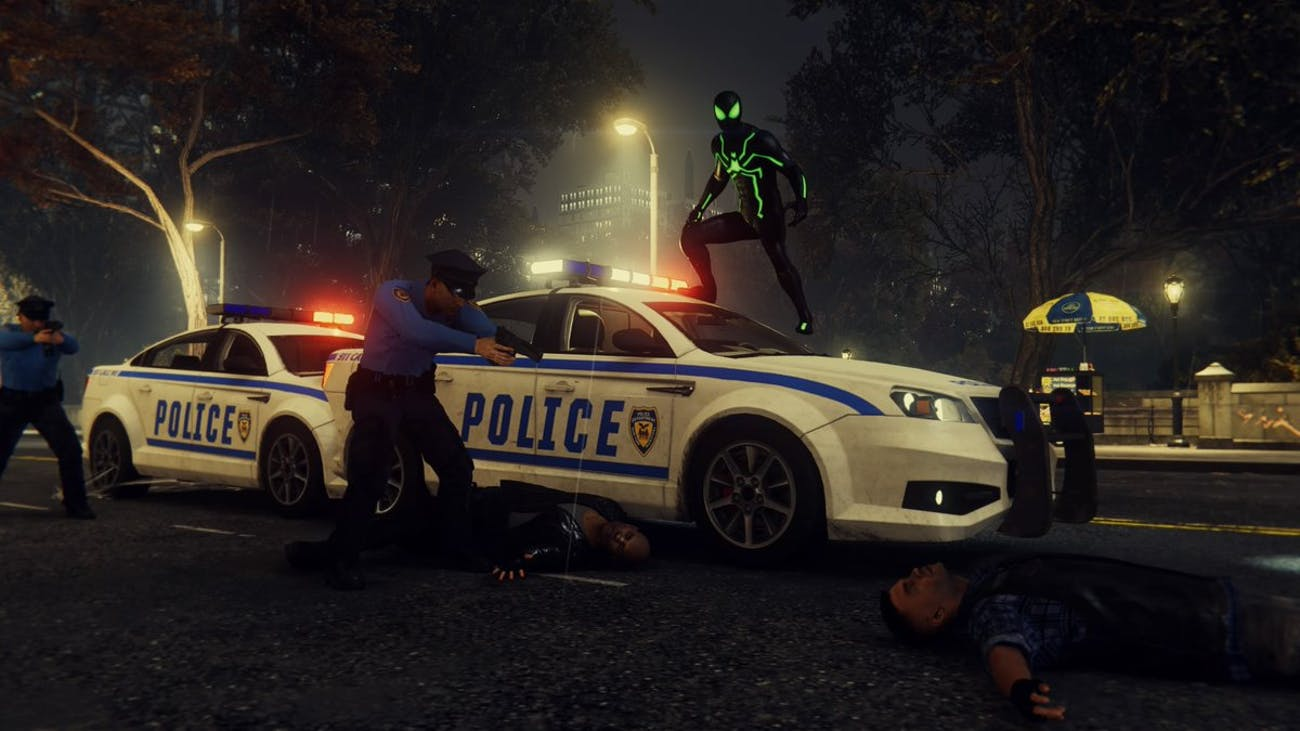 'Spider-Man' PS4 Police