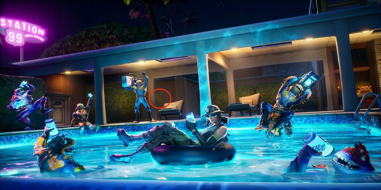 fortnite season 10 week 7 loading screen summer slurp