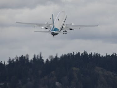 Boeing Washington testing airplane self flying future