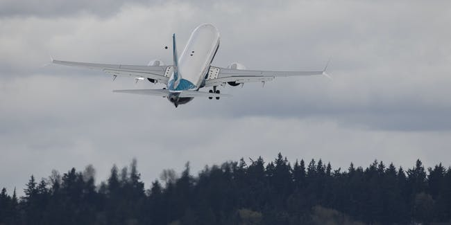 Boeing Washington testing airplane self flying future