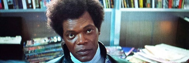 Samuel L Jackson as Mr. Glass in 'Unbreakable'
