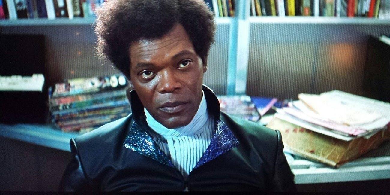 Samuel L Jackson as Mr. Glass in 'Unbreakable'