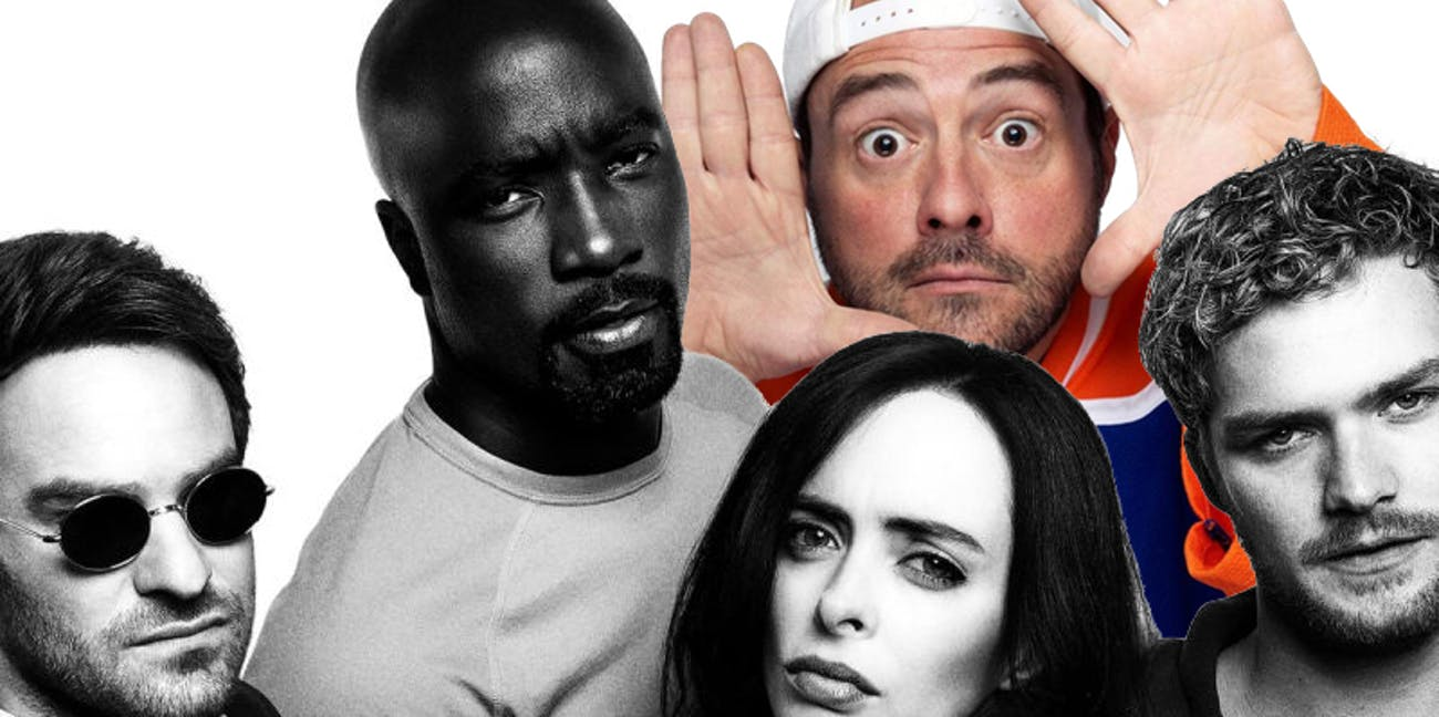 Kevin Smith Defenders Netflix