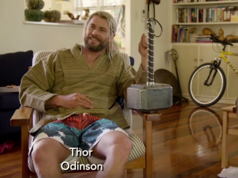 Hilarious Clip Reveals What Thor Got Up To In 'Civil War'