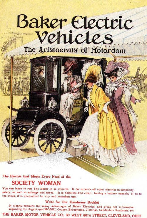 In Electric Cars Were The Best Vehicles On The Road What