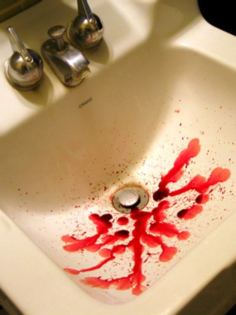 Bloody Sink
