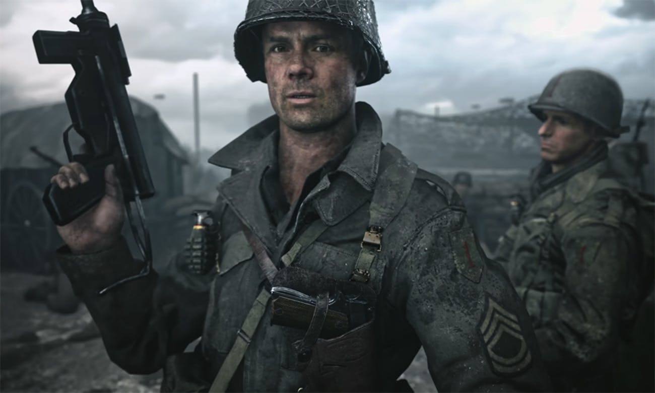 Josh Duhamel plays Sgt. William Pierson in 'Call of Duty: WWII'.