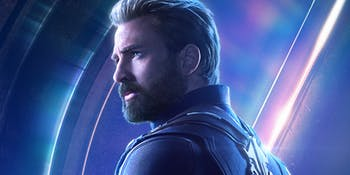 Avengers Captain America Infinity War