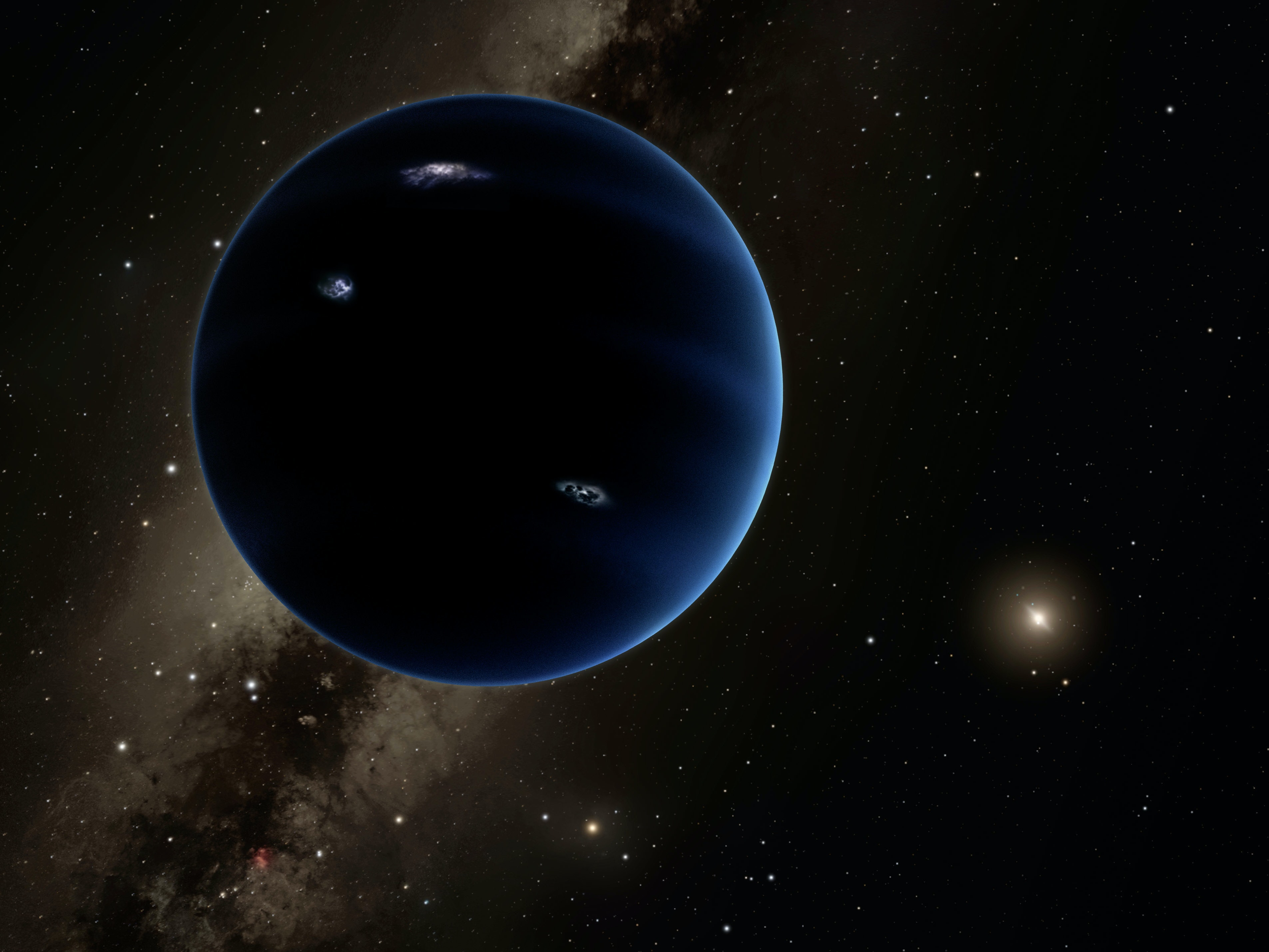 Scientist Who Found 'Ninth Planet' Says It Was 'Pretty Massive'