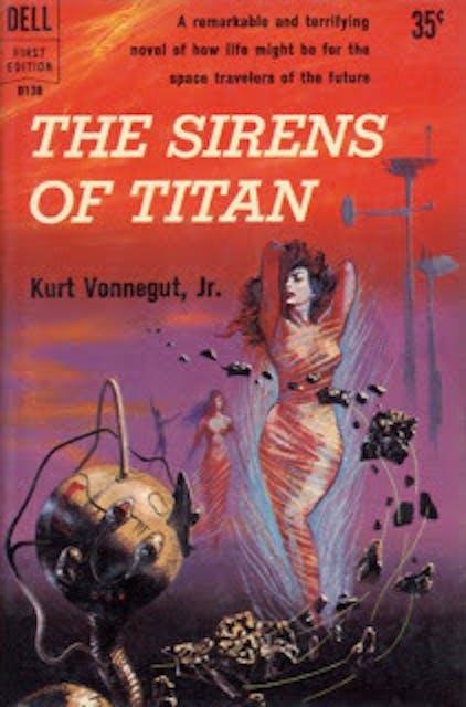 Original cover art for 'Sirens of Titan.'
