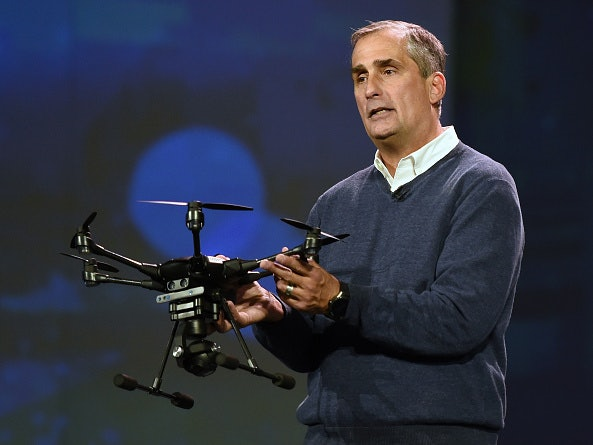 Intel CEO Picked to Help Regulate Drones, America's Growing Obsession