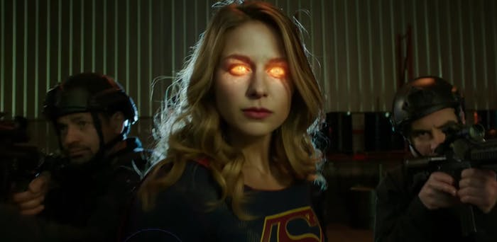 Side note: Is this the most badass Kara has ever looked?