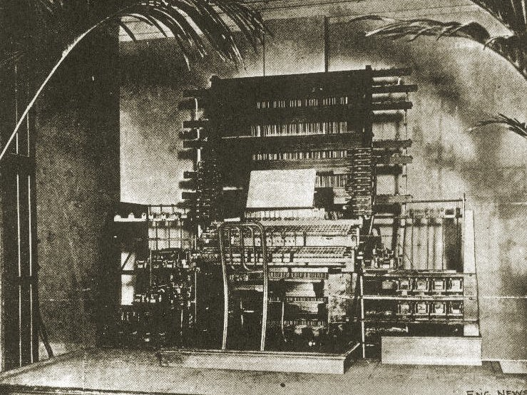 Thaddeus Cahill's Telharmonium: The World's First Electronic Synthsizer