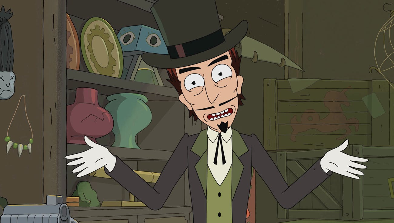 Lucius Needful is, in fact, the Devil on 'Rick and Morty'.