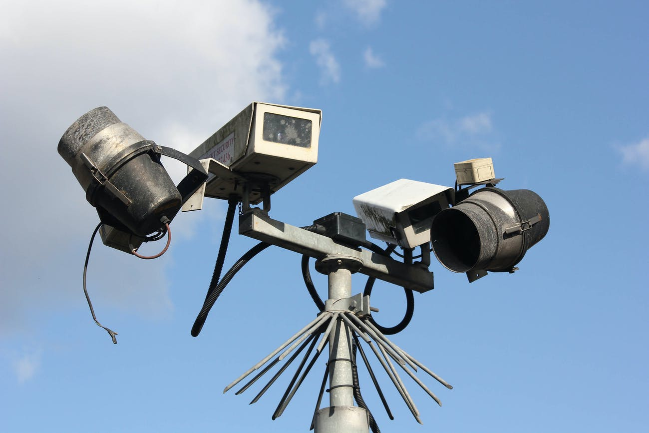 It's watching your every move, but is CCTV relaying it back to the God's Eye?