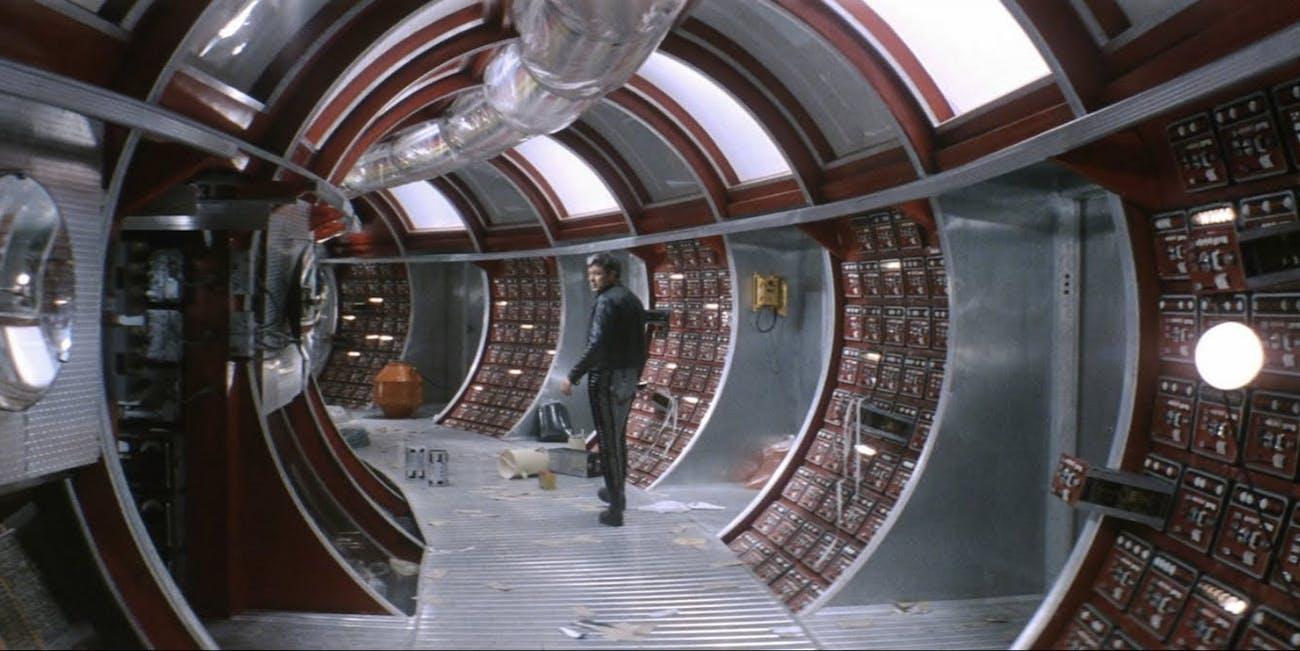 Scene from Andrei Tarkovsky's 1979 sci-fi film 'Solaris'