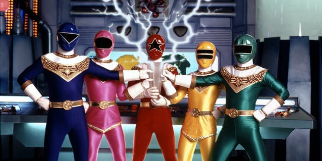 Power Rangers Zeo Movie