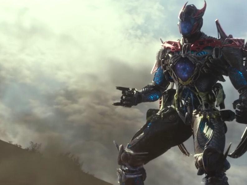 The Power Rangers' Megazord is a Giant Metallic Superorganism
