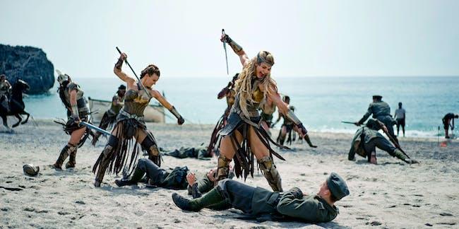 wonder woman amazon army