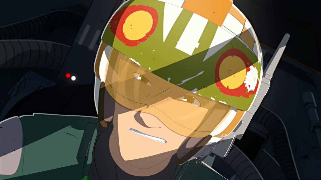 Kaz in 'Star Wars Resistance' is a great pilot but a not-so-great spy.