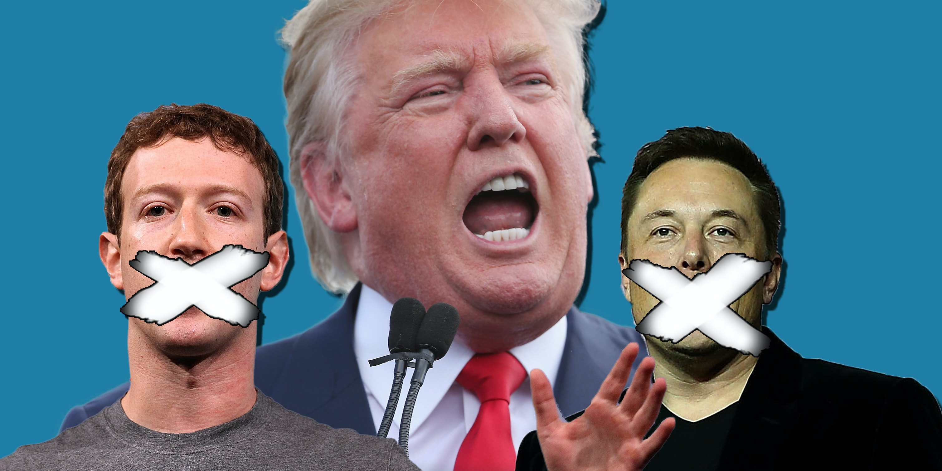 Some of the biggest names in tech stayed quiet on the Wednesday after Donald Trump's victory.
