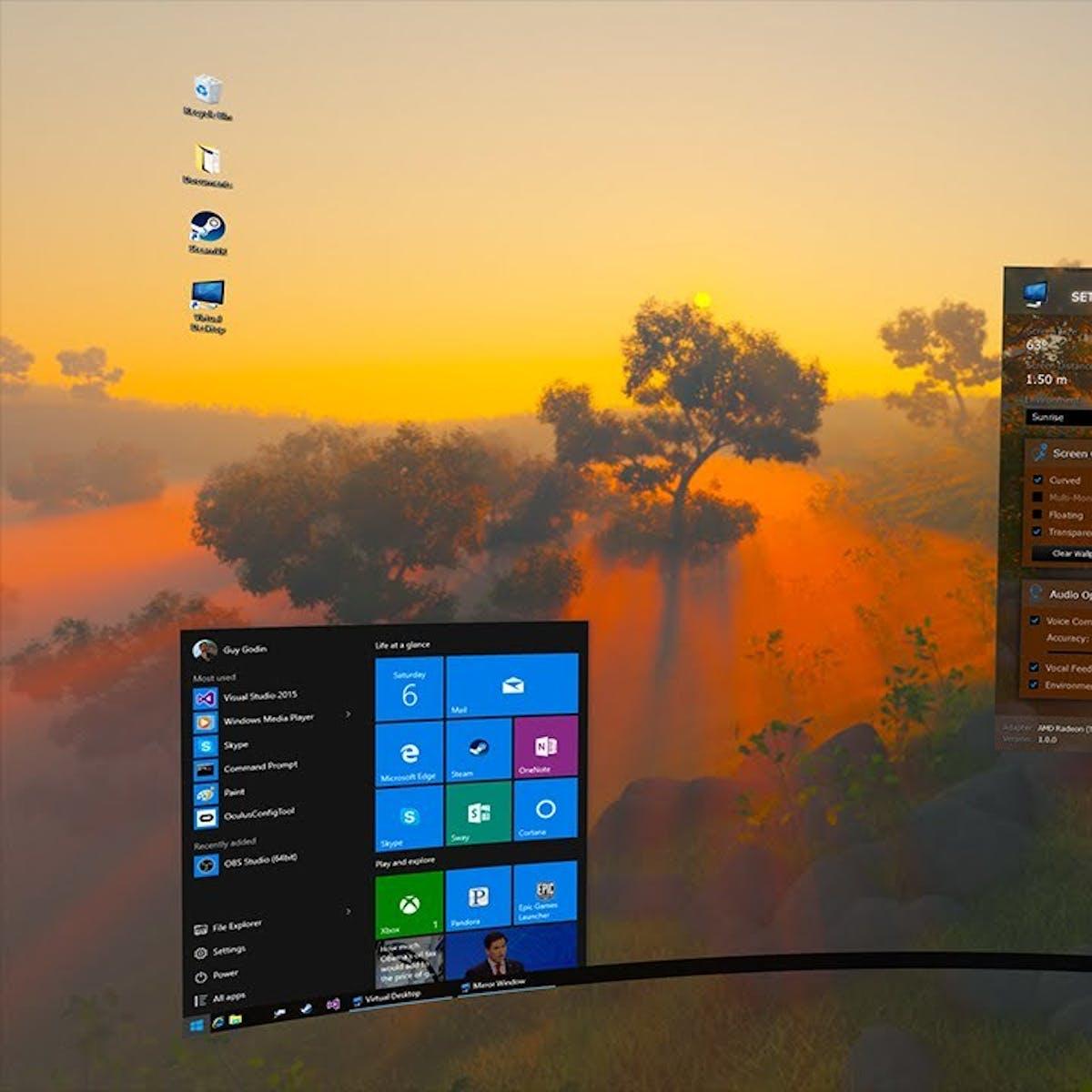 Virtual Desktop, a New Oculus Rift App, Will Make You Ditch Your
