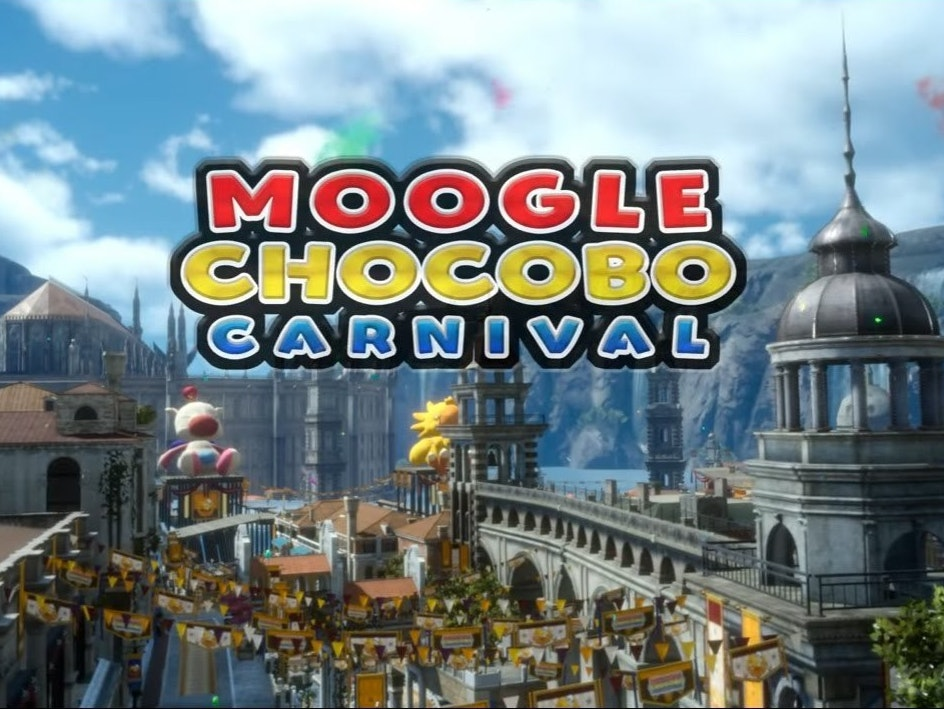 The Moogle Chocobo Carnival is Coming to 'Final Fantasy XV'