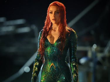 Amber Heard Brings Much-Needed Color to DC in 'Aquaman'