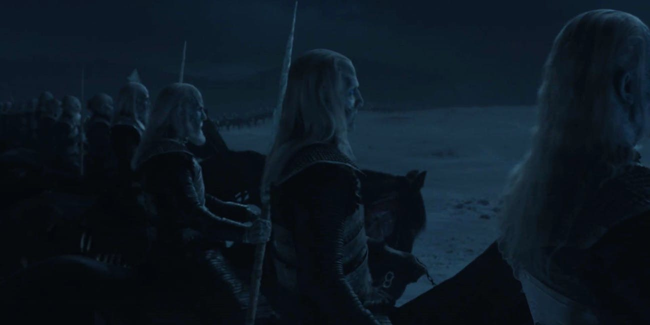 White Walker generals like up and prepare for Battle of Winterfell on 'Game of Thrones'