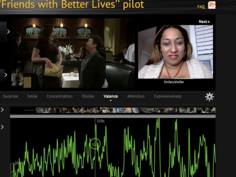 Affectiva's software can track user's emotions using facial recognition.
